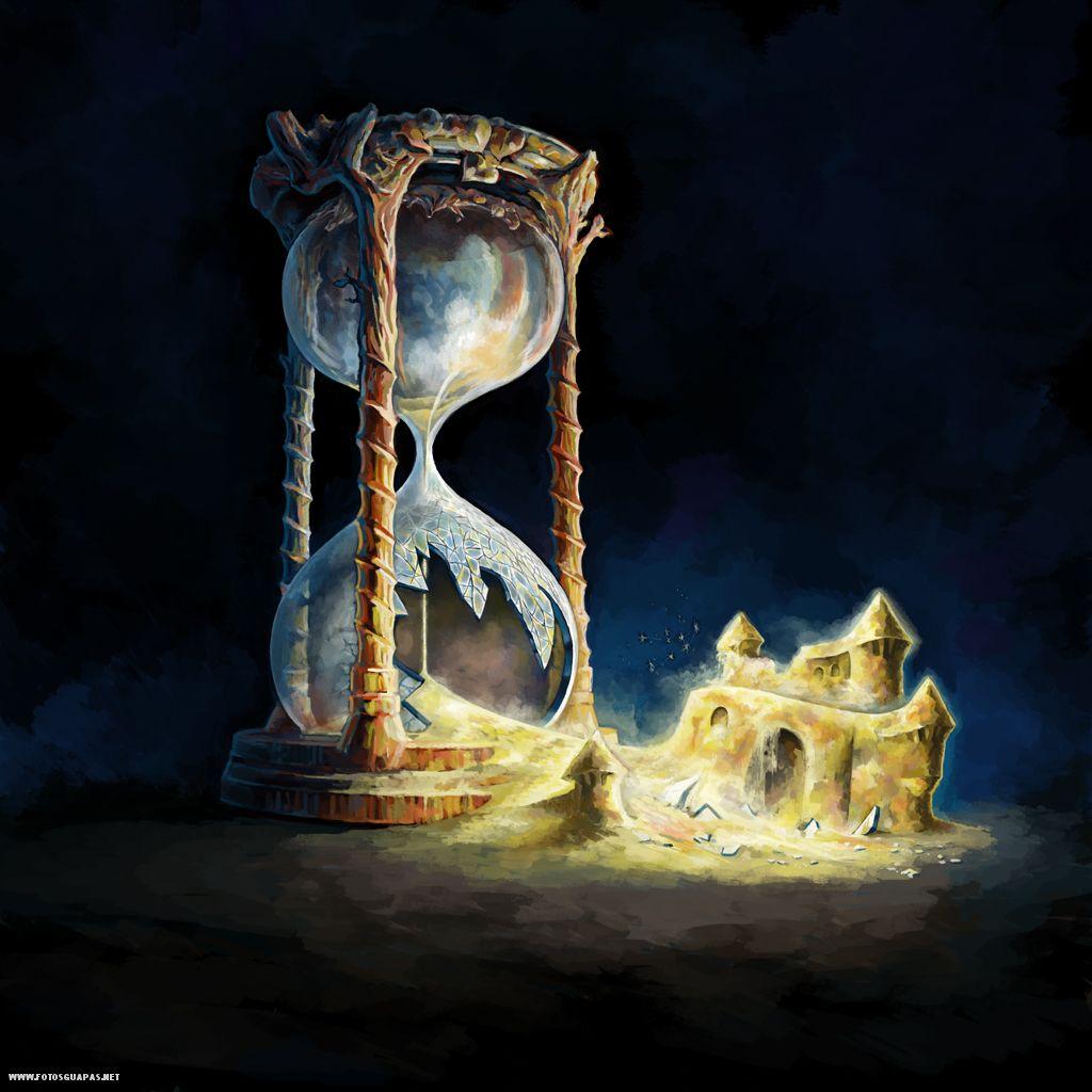 El Reloj De Arena Y El Castillo Sin Huellas De Un Solo Pie